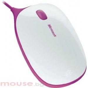 Мишка Microsoft Express Mouse White&Pink
