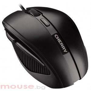 Жична ергономична мишка CHERRY MC 3000, Черен, USB кабел