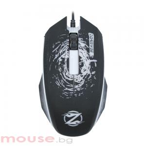 Геймърска мишка, ZornWee Pioneer XG73, Оптична, Черен