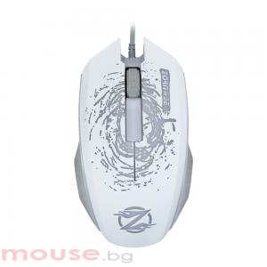 Геймърска мишка, ZornWee Pioneer XG73, Оптична, Бял
