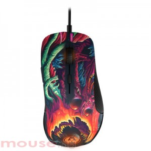 Мишка STEELSERIES  Rival 300 CS:GO Hyperbeast геймърска оптична USB