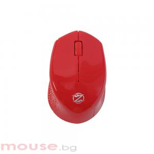 Мишка, ZornWee W770, Безжична, Червен