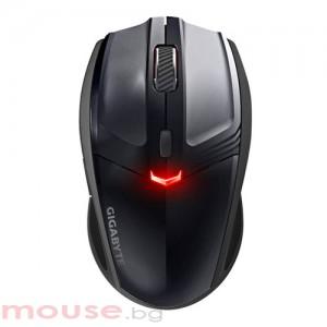 Безжична лазерна мишка Gigabyte ECO ME500,2.4Ghz, нано приемник, до 10м