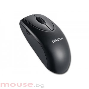 Мишка DELUX DLM-358BU/USB/BLACK USB