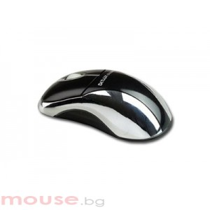 Мишка NNM DLM-318BU/USB/SILVER-BLACK USB 1.1