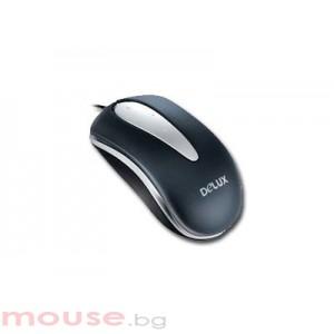 Мишка DELUX DLM-369BU/SB USB
