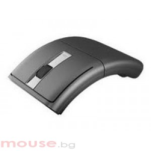 Мишка LENOVO Mouse Wireless Laser Rotatable Mouse DarkGray N70A