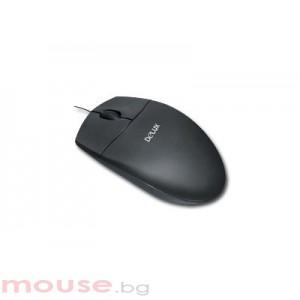 Мишка DELUX DLM-338BU/BLACK USB 2.0