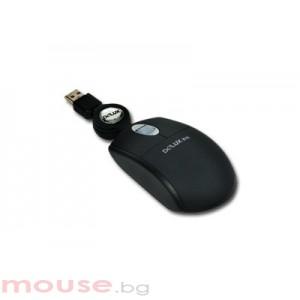 Мишка DELUX DLM-361 Black