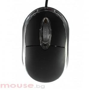 Мишка FanTech, Оптична T000, Черна