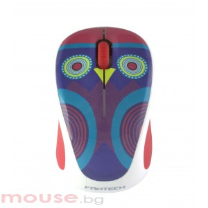 Мишка FanTech W235ZCW, Wireless, ,Различни цветове