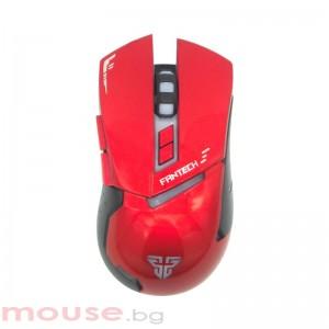 Геймърска мишка FanTech, Оптична Gragas Z3,Червен