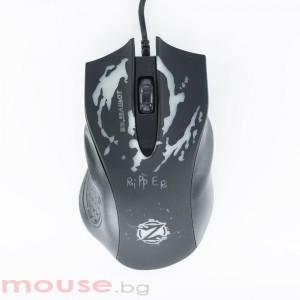Геймърска мишка, ZornWee Ripper, Оптична, Черен