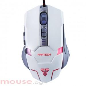 Геймърска мишка FanTech, Оптична Z2 Batrider,Бял