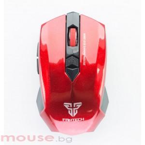 Геймърска мишка FanTech, Безжична Garen WG7,Червен