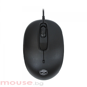 Мишка, ZornWee S122, Оптична, Черен,