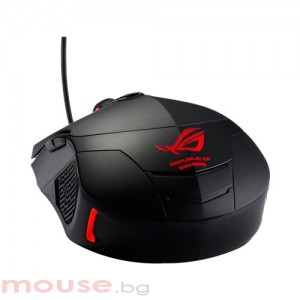Мишка ASUS GX860 Wired Laser Gaming Mouse  8200dpi, USB, Black
