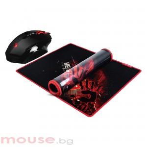 Геймърски комплект мишка Bloody V7M + пад B071, Оптична, Жична, USB