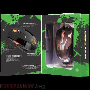Мишка геймърска оптична CANYON CND-SGM2 черен