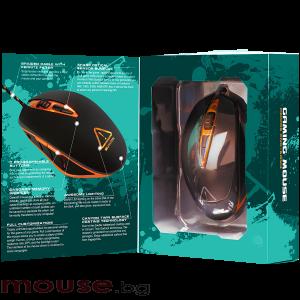 Мишка геймърска оптична CANYON CND-SGM4N черен