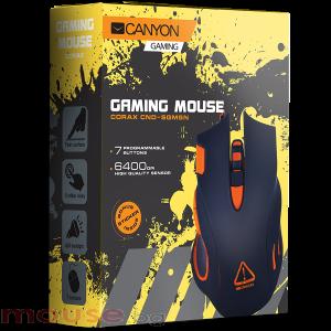 Мишка геймърска оптична CANYON CND-SGM5N черен