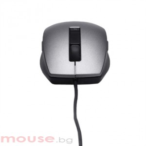 Мишка DELL 6 Buttons Laser Scroll USB Mouse Silver&Black