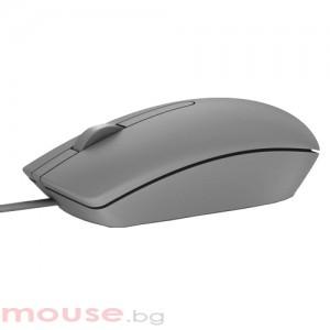Мишка DELL MS116 Optical Mouse Сив