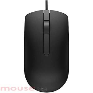Жична оптична мишка DELL MS116 , Черен, USB