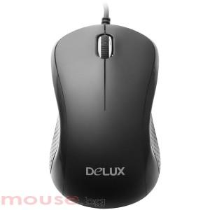 Мишка DELUX DLM-625U оптична USB черен