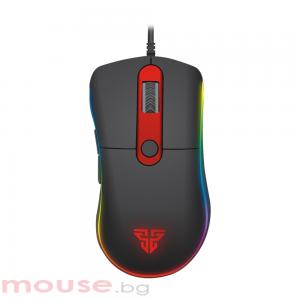 Геймърска мишка FanTech Knight X6, Macro, Черен