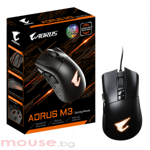 Геймърска мишка Gigabyte Aorus M3 RGB Fusion, Optical