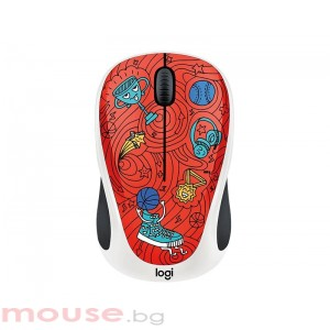 Мишка LOGITECH Doodle Collection - M238 Wireless Mouse - CHAMPION CORAL