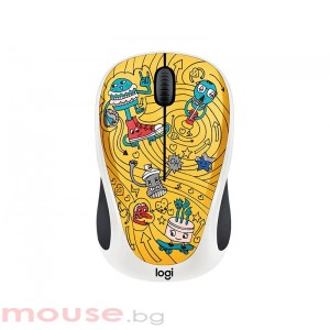 Мишка LOGITECH Doodle Collection - M238 Wireless Mouse - GO-GO GOLD