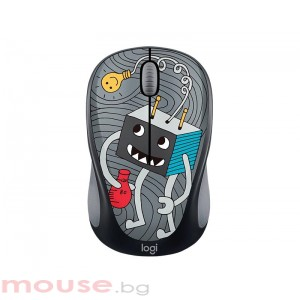 Мишка LOGITECH Doodle Collection - M238 Wireless Mouse - LIGHTBULB