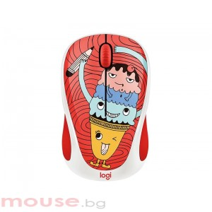 Мишка LOGITECH Doodle Collection - M238 Wireless Mouse - TRIPLE SCOOP