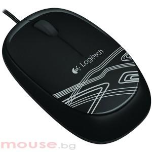 Мишка LOGITECH M105 Wired, Оптичен, черен