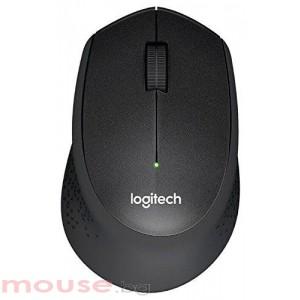 Безжична оптична мишка LOGITECH M330 Silent Plus, Черна, USB