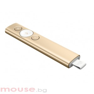 Мишка LOGITECH Spotlight Presentation Remote - Gold