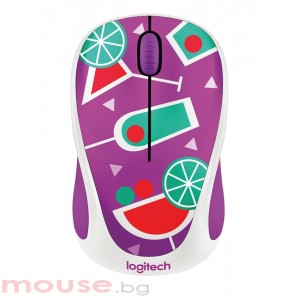 Мишка LOGITECH Wireless Mouse M238 Party Collection - COCKTAIL (ремаркетиран продукт)