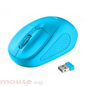 Мишка TRUST Primo Wireless Mouse - Blue