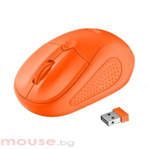 Мишка TRUST Primo Wireless Mouse - Orange