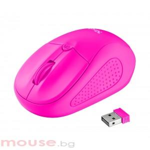 Мишка TRUST Primo Wireless Mouse - Pink