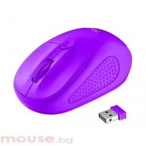 Мишка TRUST Primo Wireless Mouse - Purple