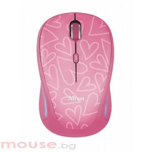 Мишка TRUST Yvi FX Wireless Mouse - Розов