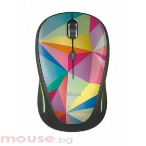 Мишка TRUST Yvi FX Wireless Mouse - geometrics