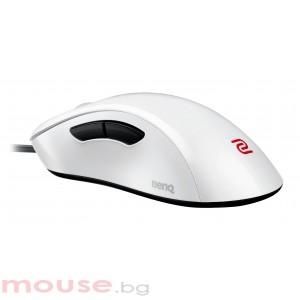 Геймърска мишка ZOWIE, EC1-A, Оптична, Кабел, USB, Бяла