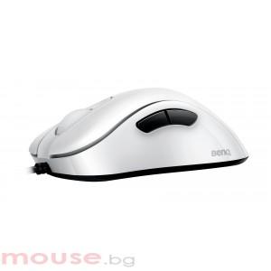 Геймърска мишка ZOWIE, EC2-A, Оптична, Кабел, USB, Бяла