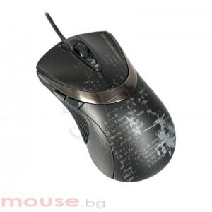 Геймърска мишка F4, V-track 100-3000dpi, 160k памет