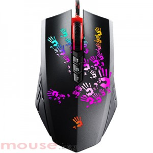 A4Tech Bloody Blazing Gaming Mouse - A6