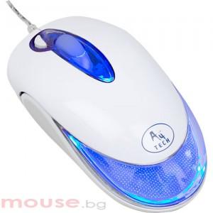 Мишка X6 287D G-лазерна, USB, свети в седем цвята